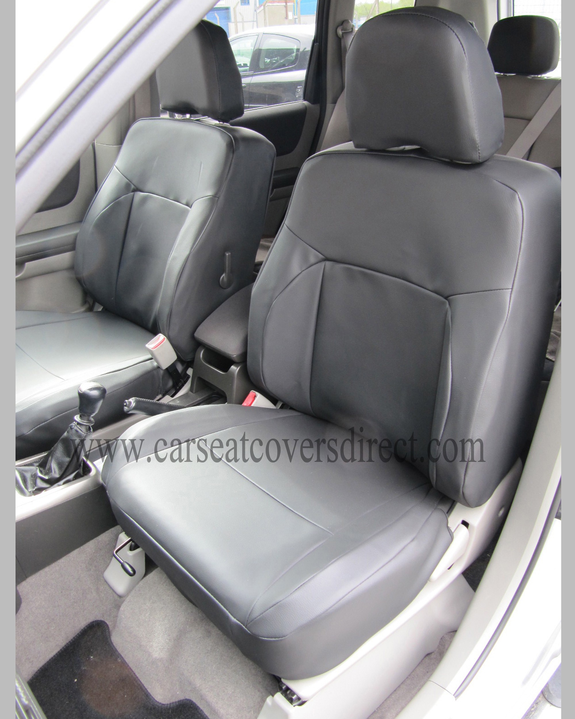 NISSAN X-TRAIL Black Leatherette Seat Covers