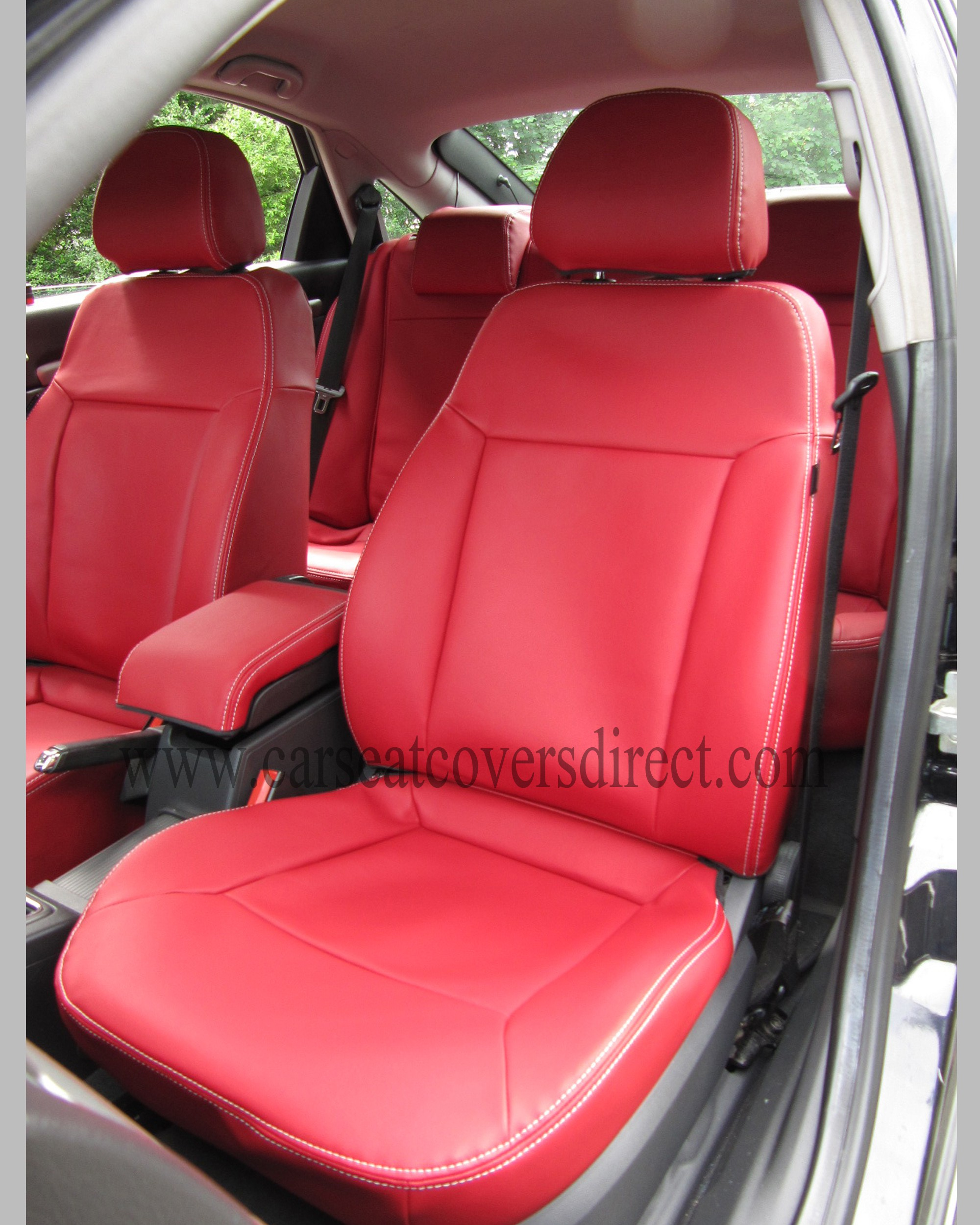 OPEL VECTRA C Red Seat Covers
