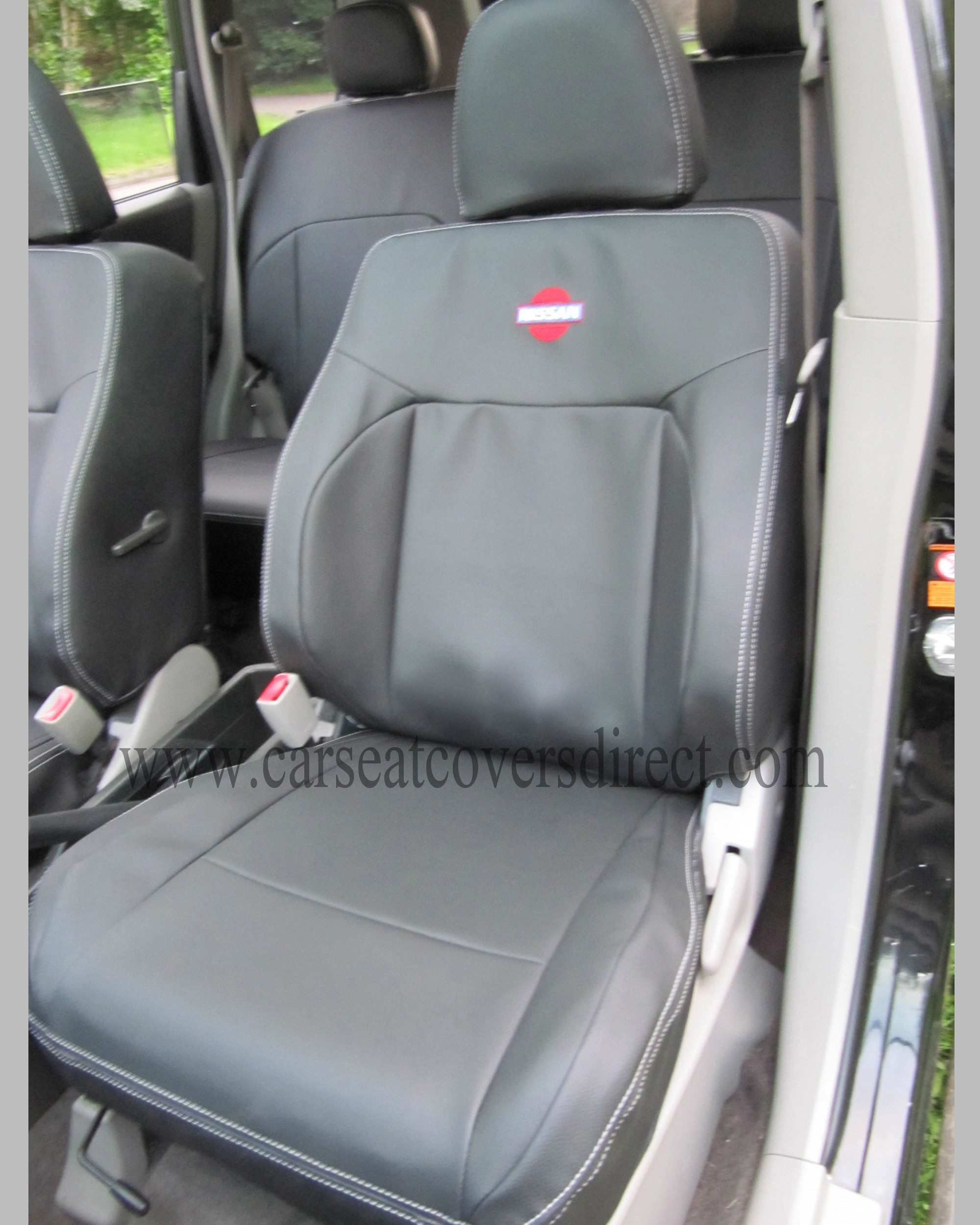 NISSAN X-TRAIL Black Seat Covers