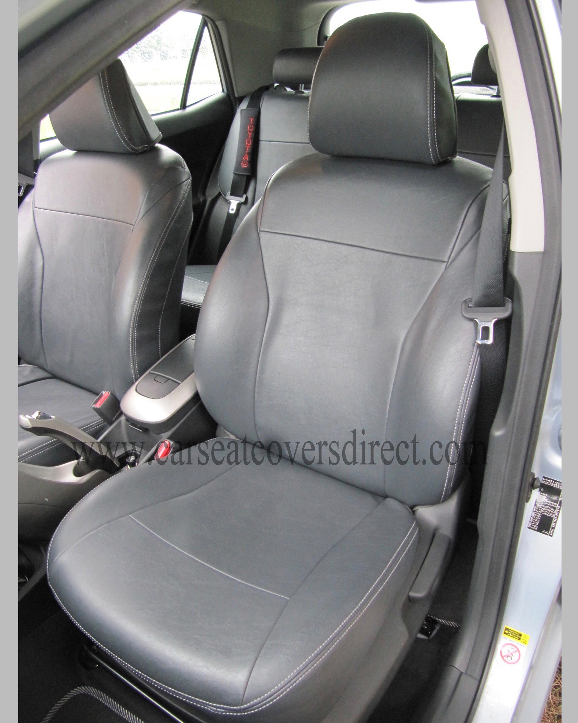 TOYOTA AURIS 1st Gen grey seat covers
