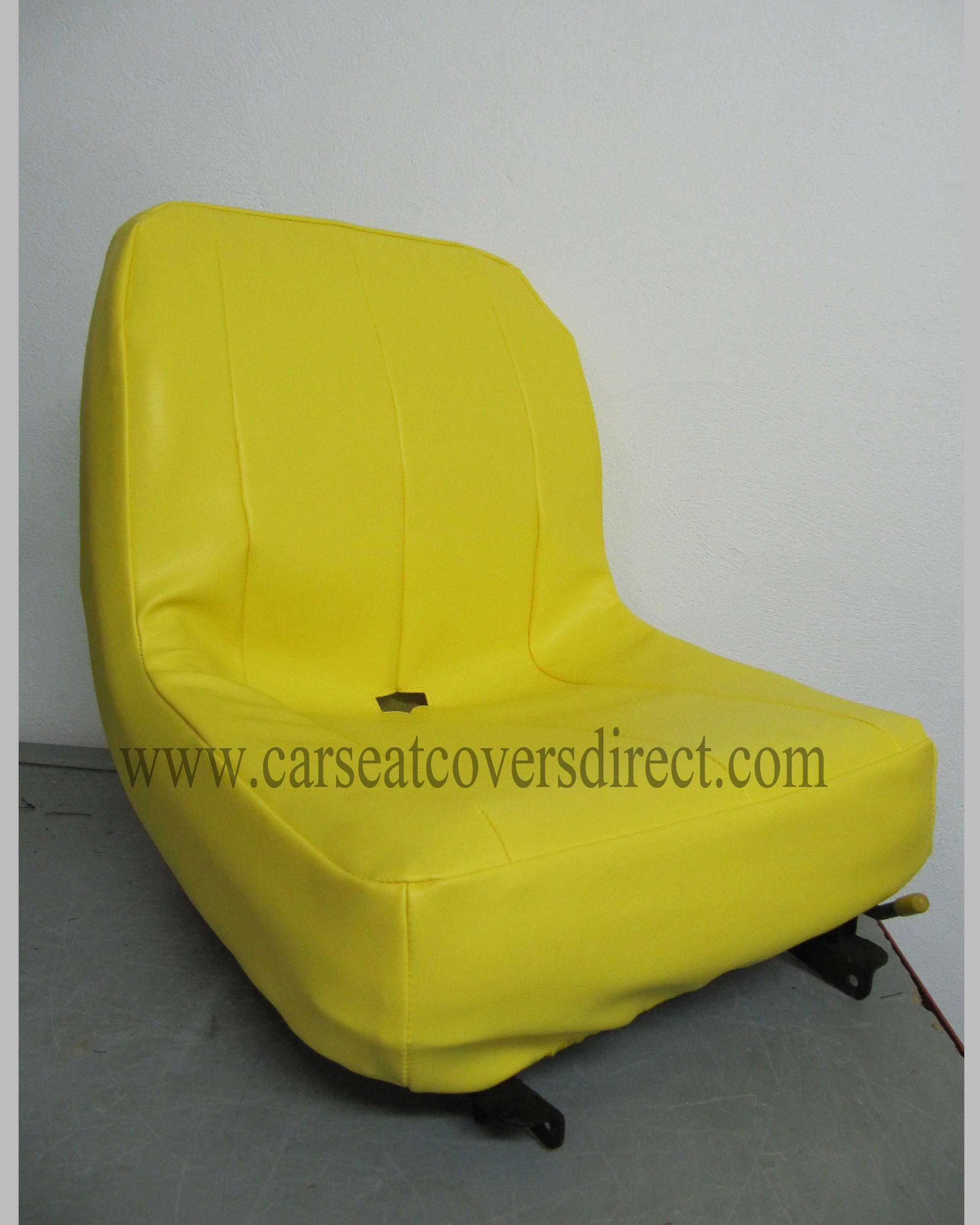 Custom John Deer lawnmower seat cover