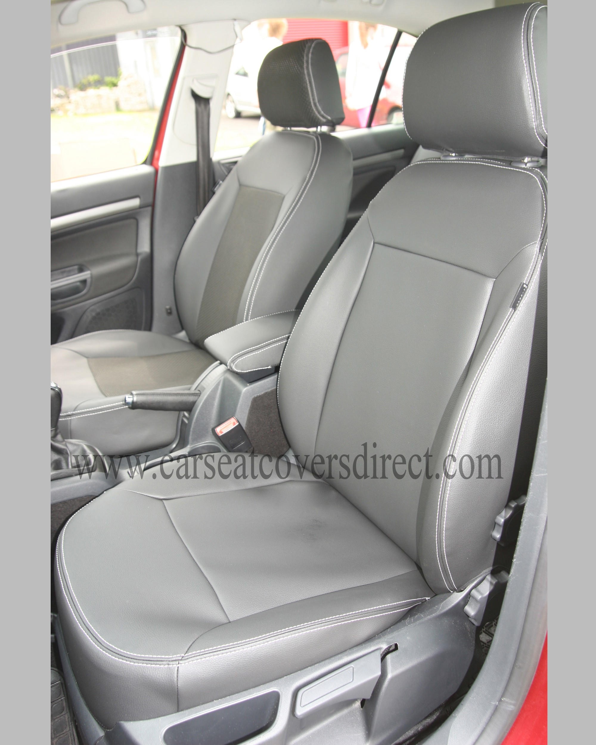 SKODA OCTAVIA 2ND GEN Black Seat Covers
