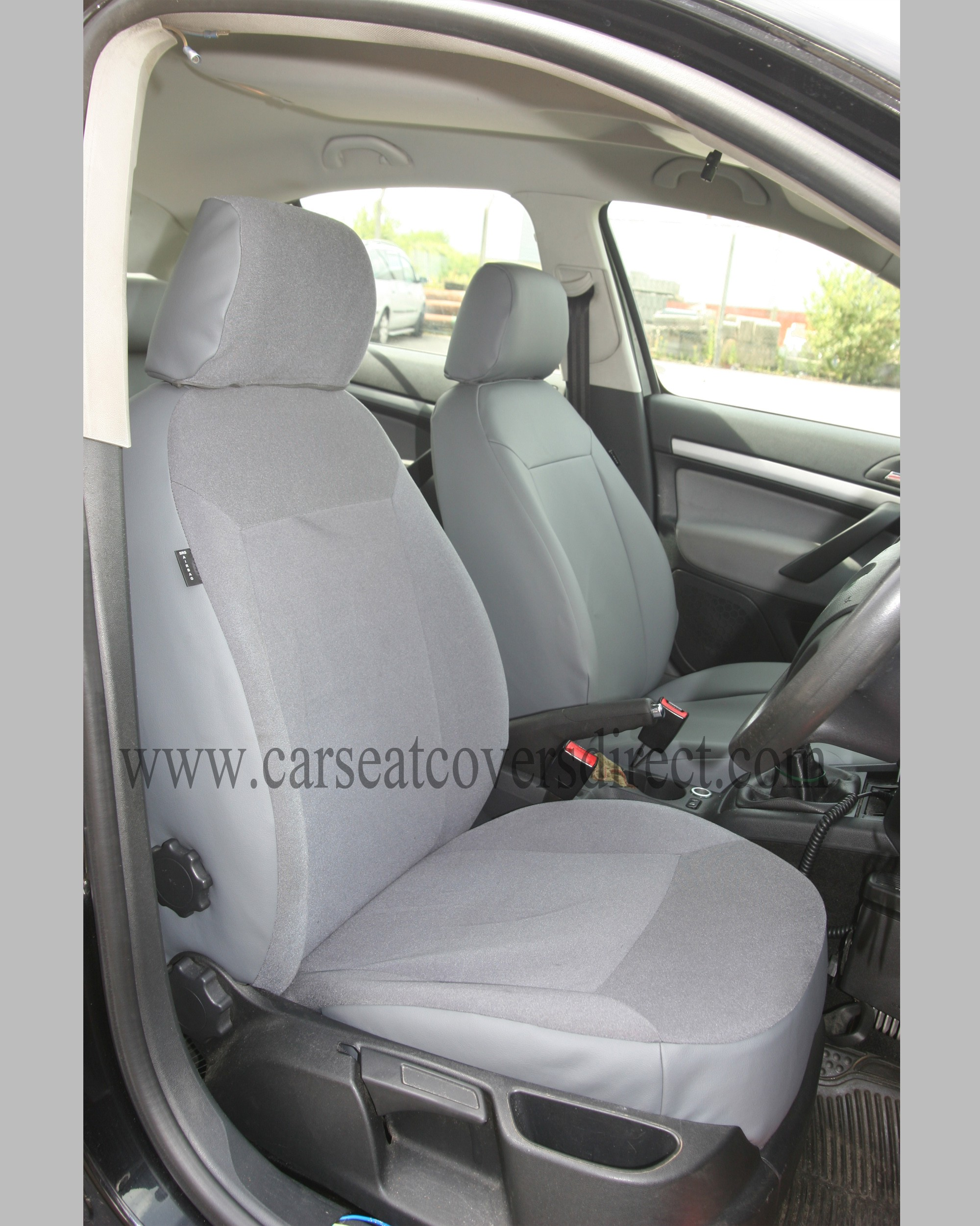 SKODA OCTAVIA 2ND GEN Grey Seat Covers