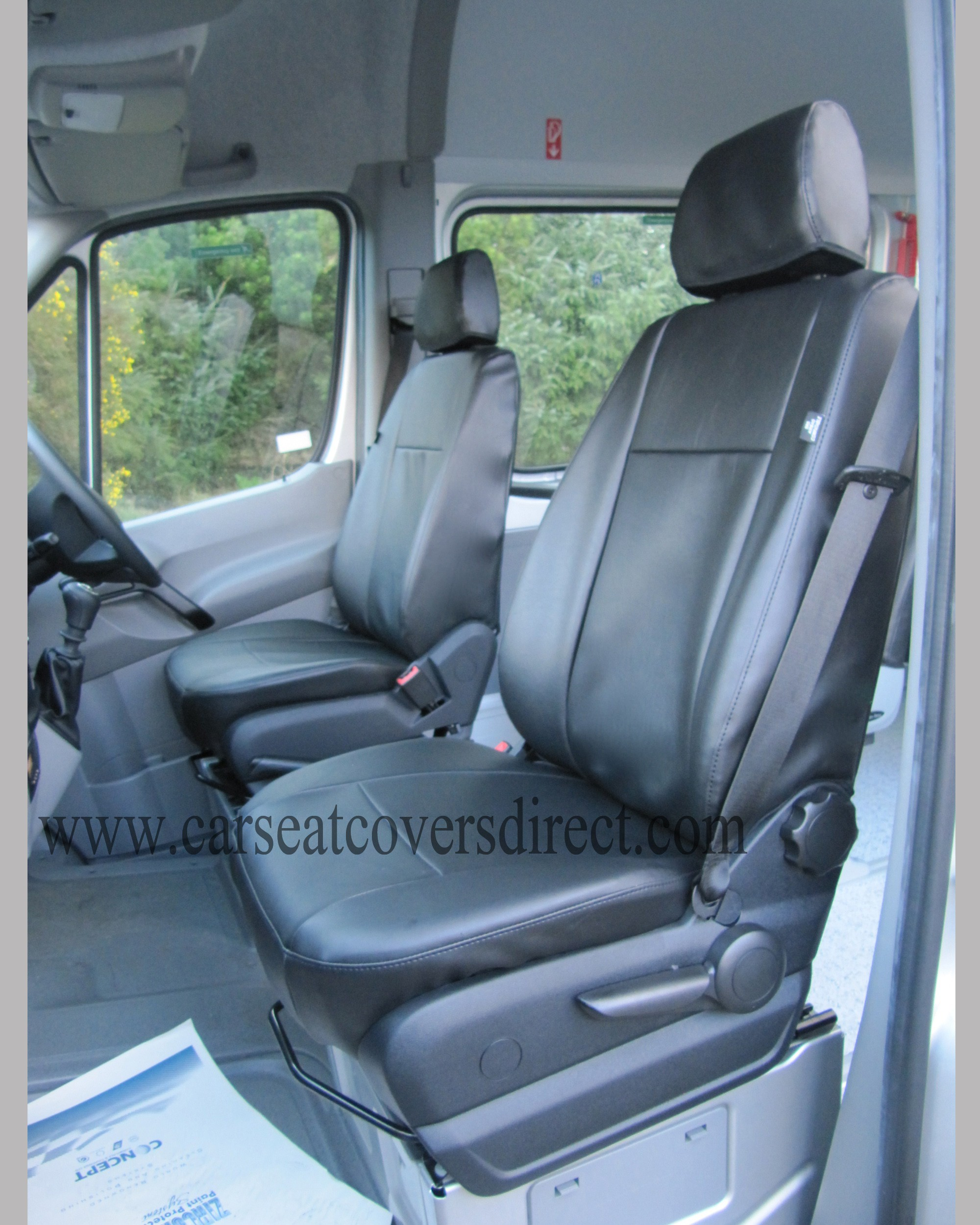 MERCEDES SPRINTER 2ND GEN 17 SEATER seat covers