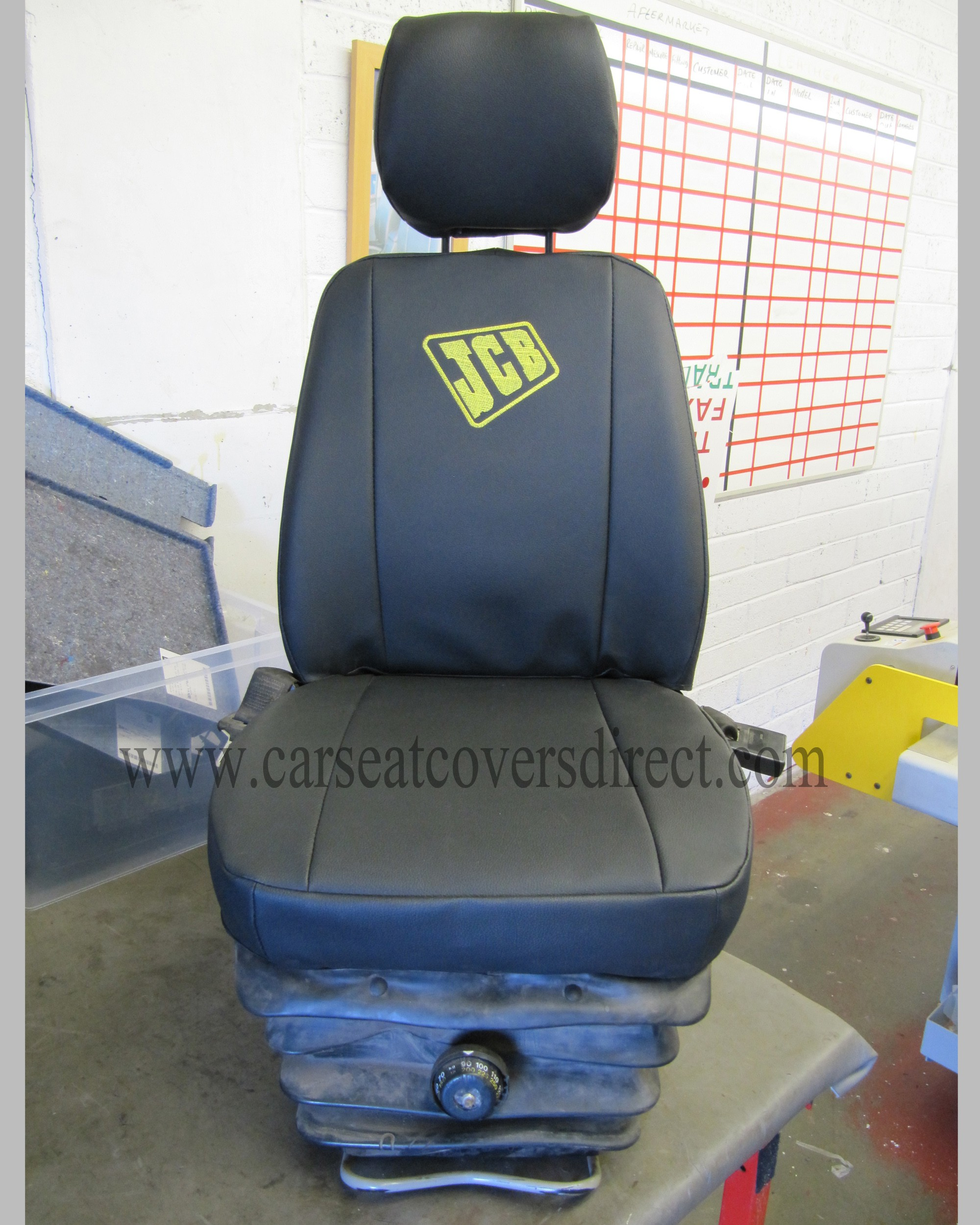 Custom JCB 416 seat covers