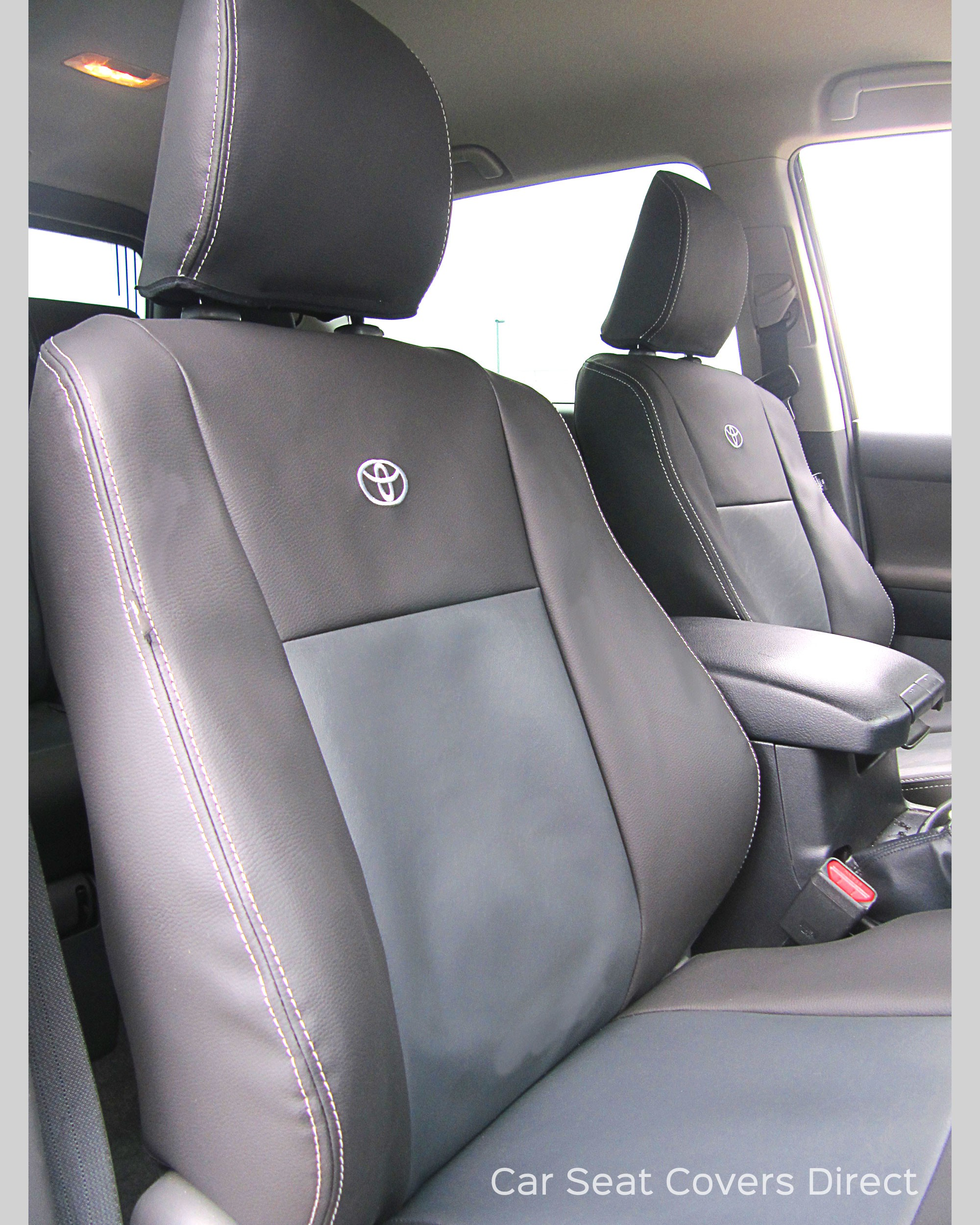 Toyota Land Cruiser Seat Covers - Drivers seat