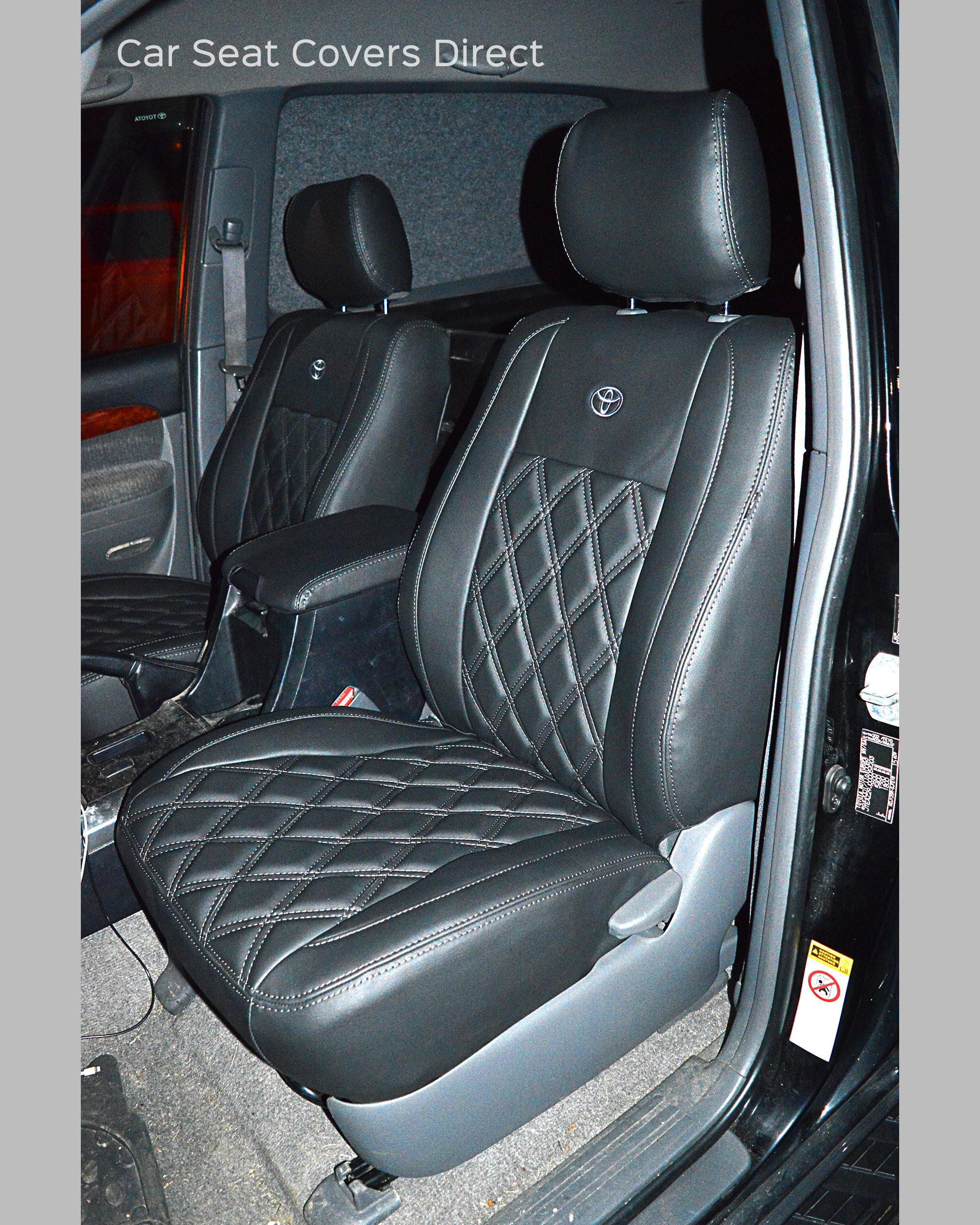 Toyota Land Cruiser Seat Covers - Passenger Seat