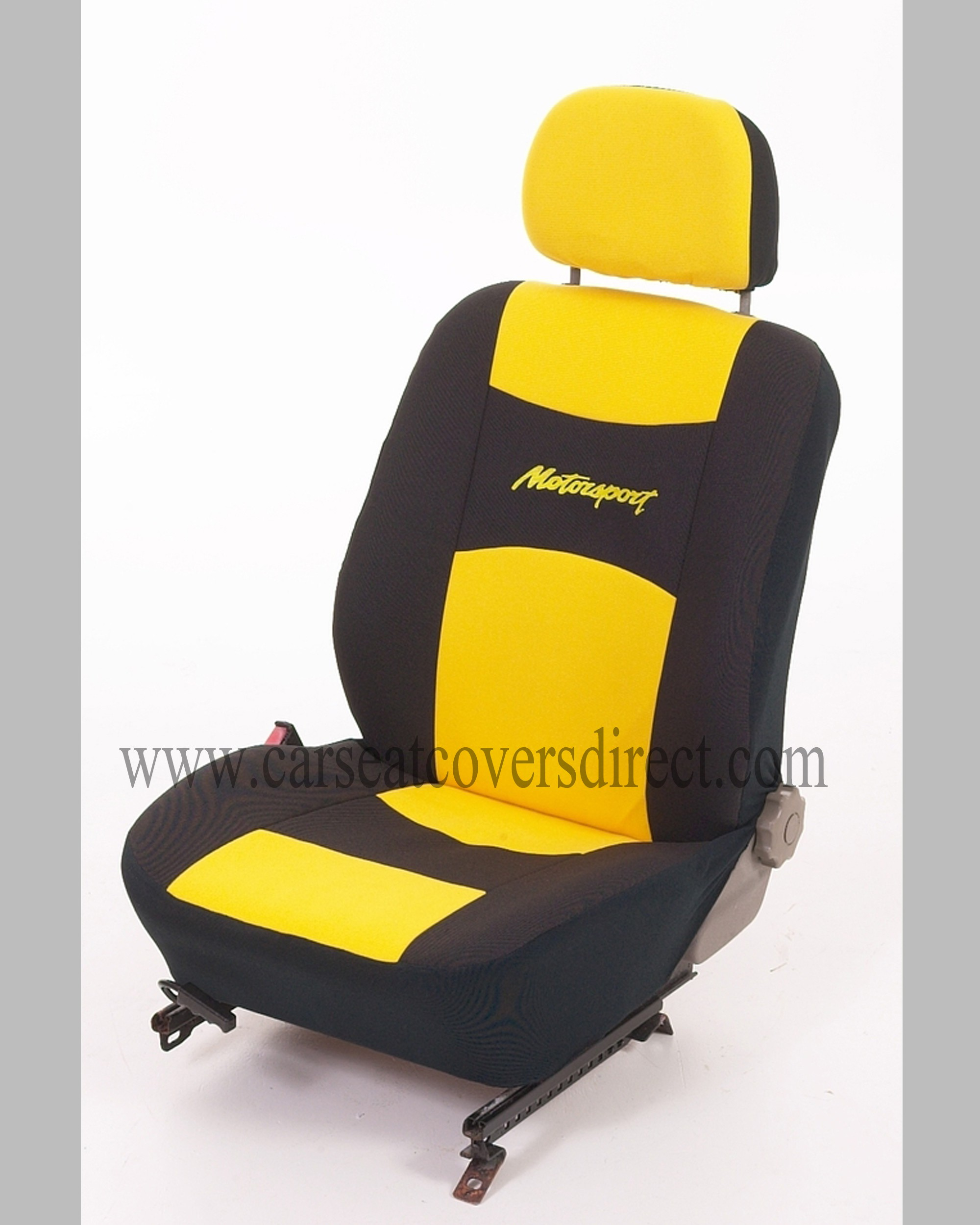 Motorsport UNIVERSAL Seat Covers (yellow)