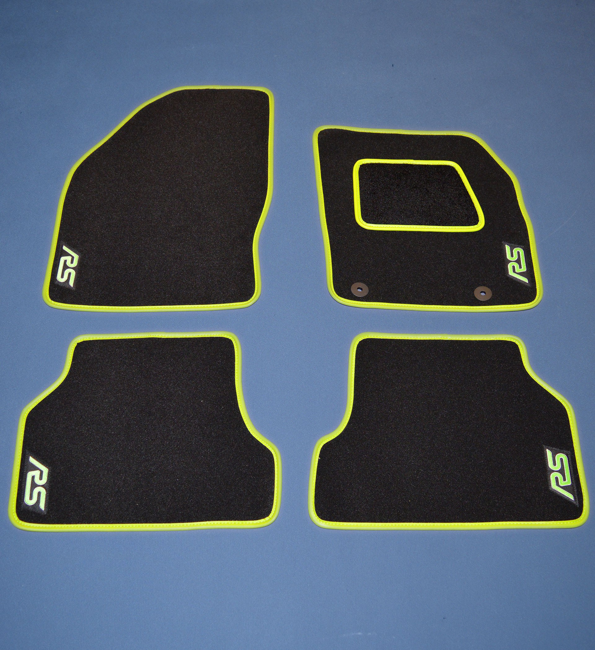 Ford Focus RS MK3 Tailored Car Mats and boot mat