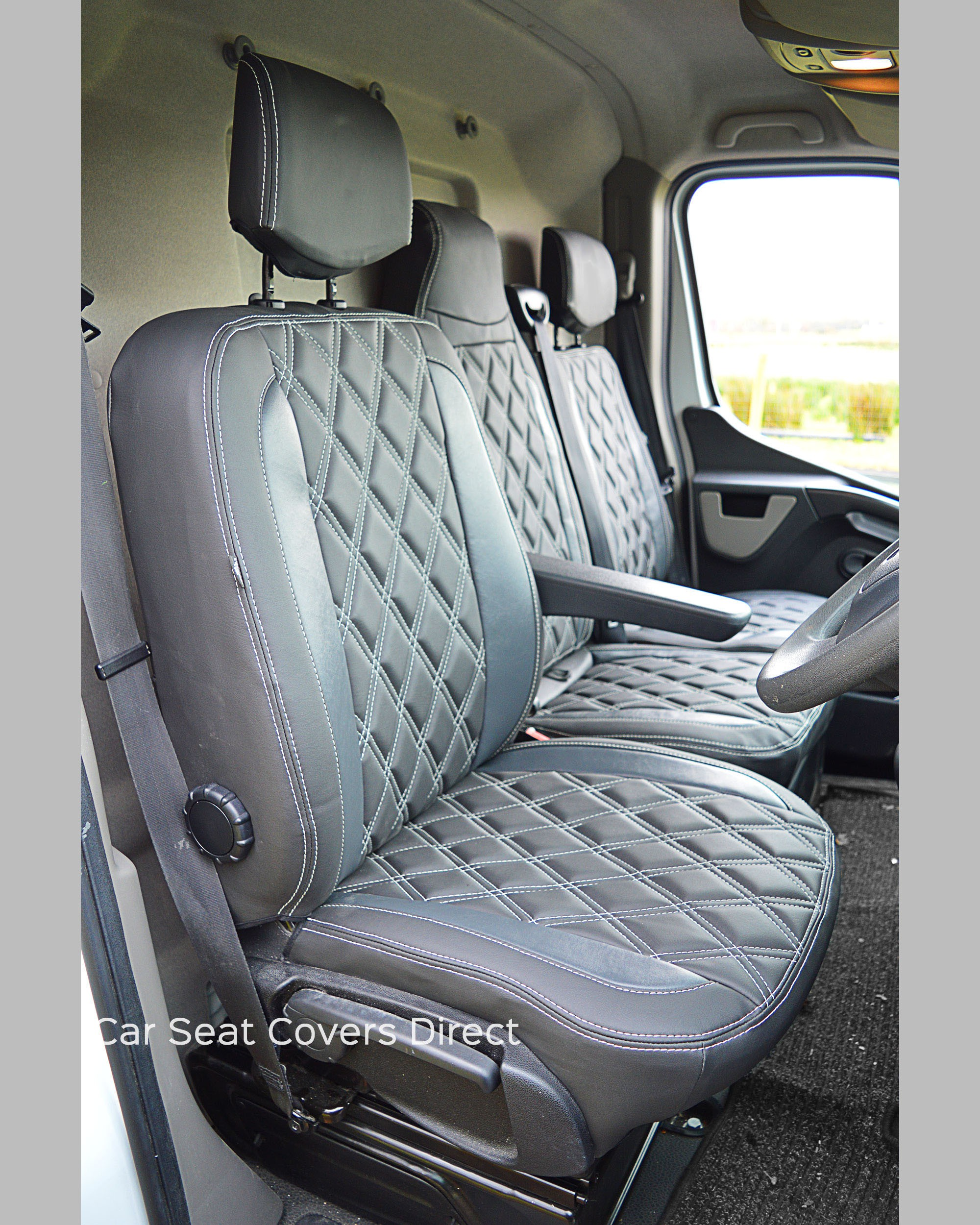Opel Movano Tailored Seat Covers - Drivers seat