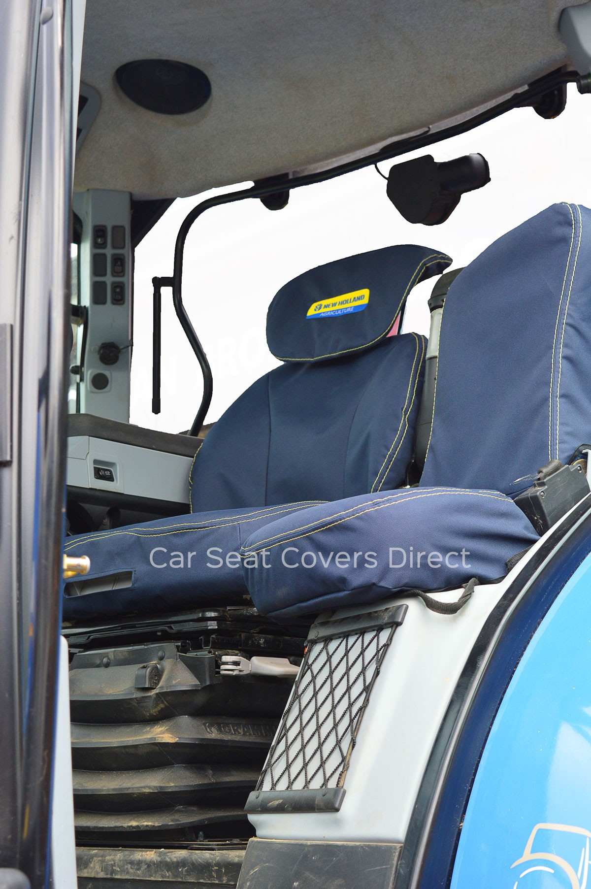 Tractor Seat And Seat Covers : New holland tractor seat covers car direct