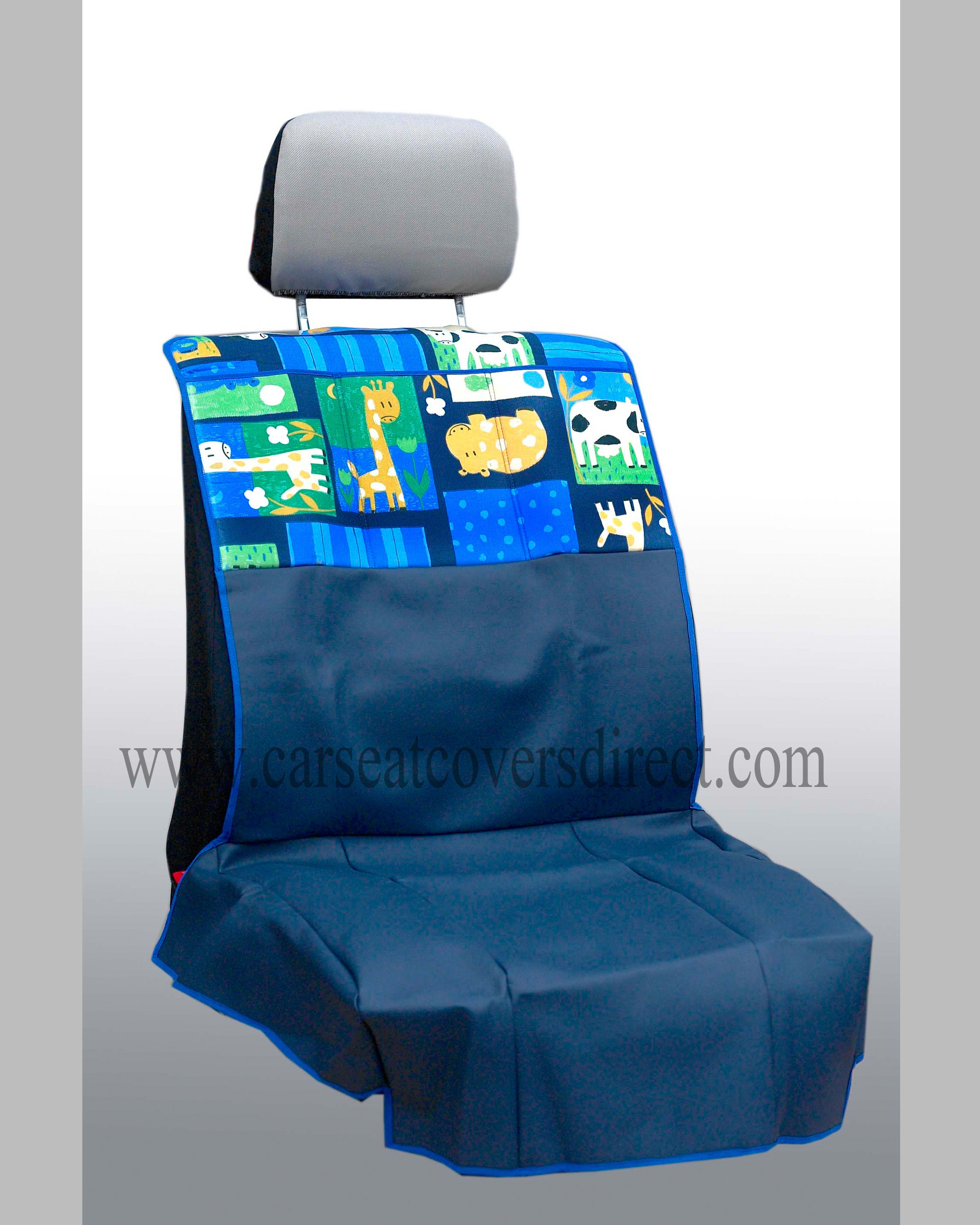 Childrens front seat protector
