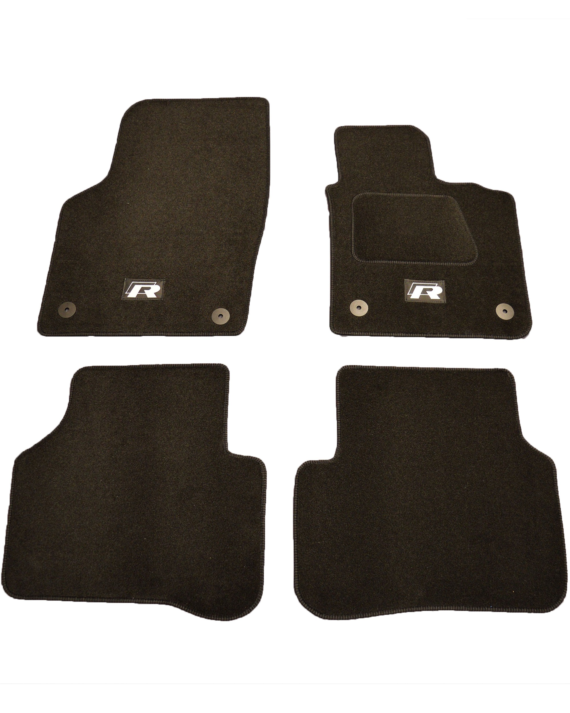 Volkswagen Passat B6 & B7 R Line Tailored Car Floor Mats Black