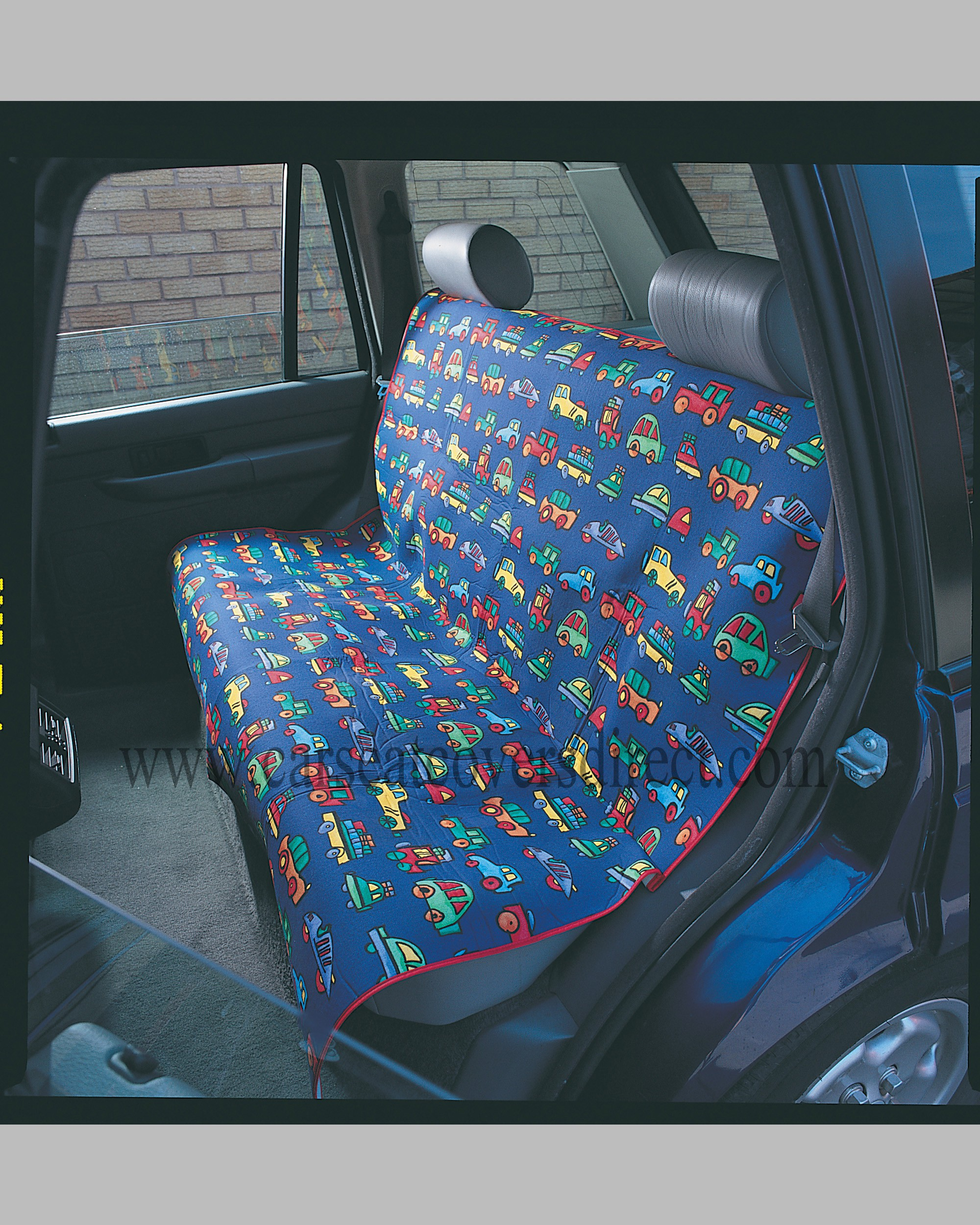 Childrens rear seat protector