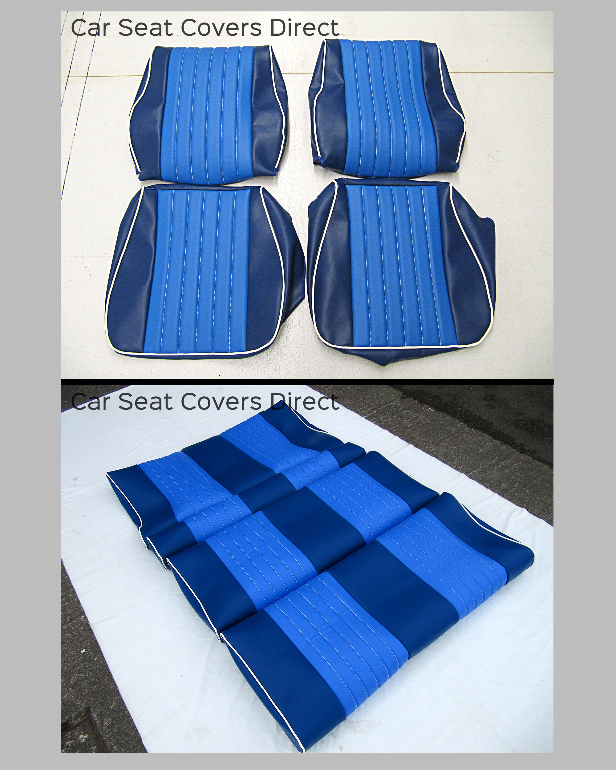 Volkswagen VW T25 / T3 Tailored Van Seat Covers + Rock & Roll Bed Cover BUNDLE