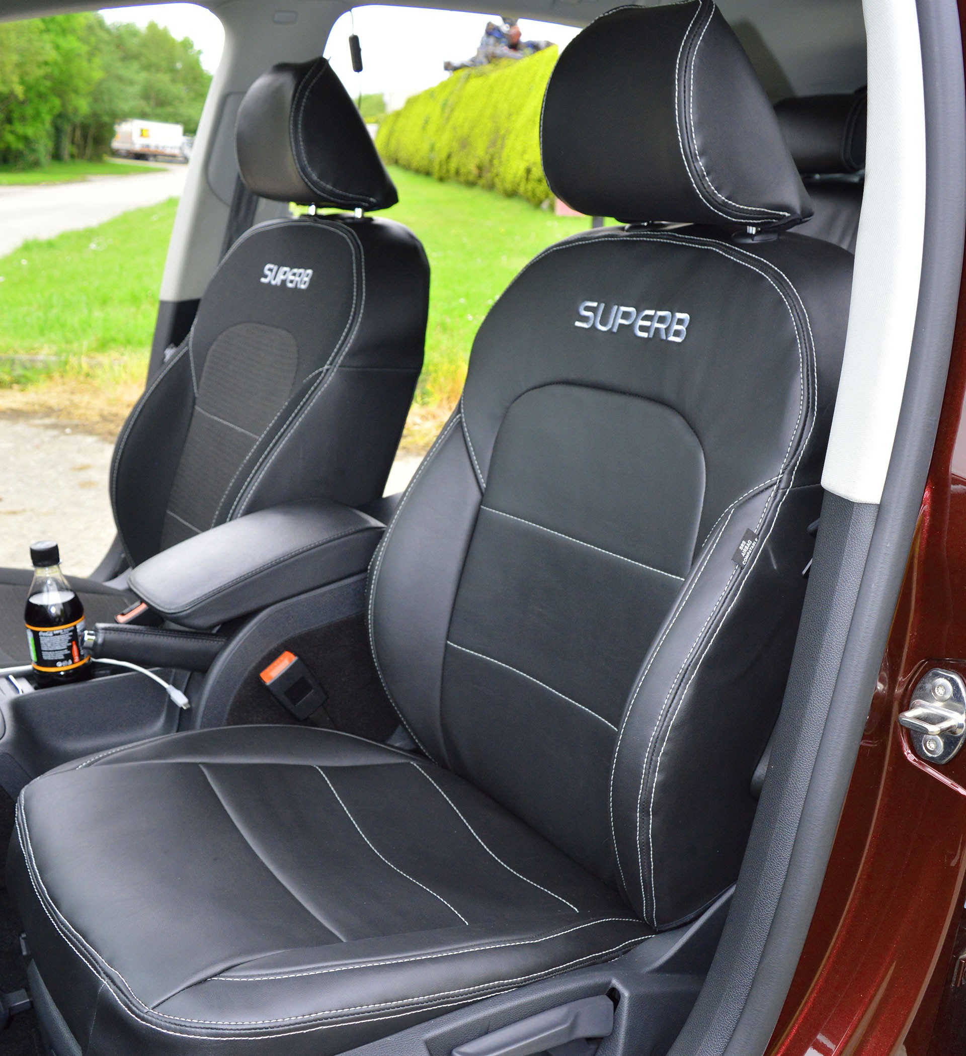 Skoda Superb Elegance 2nd Generation Tailored Seat Covers