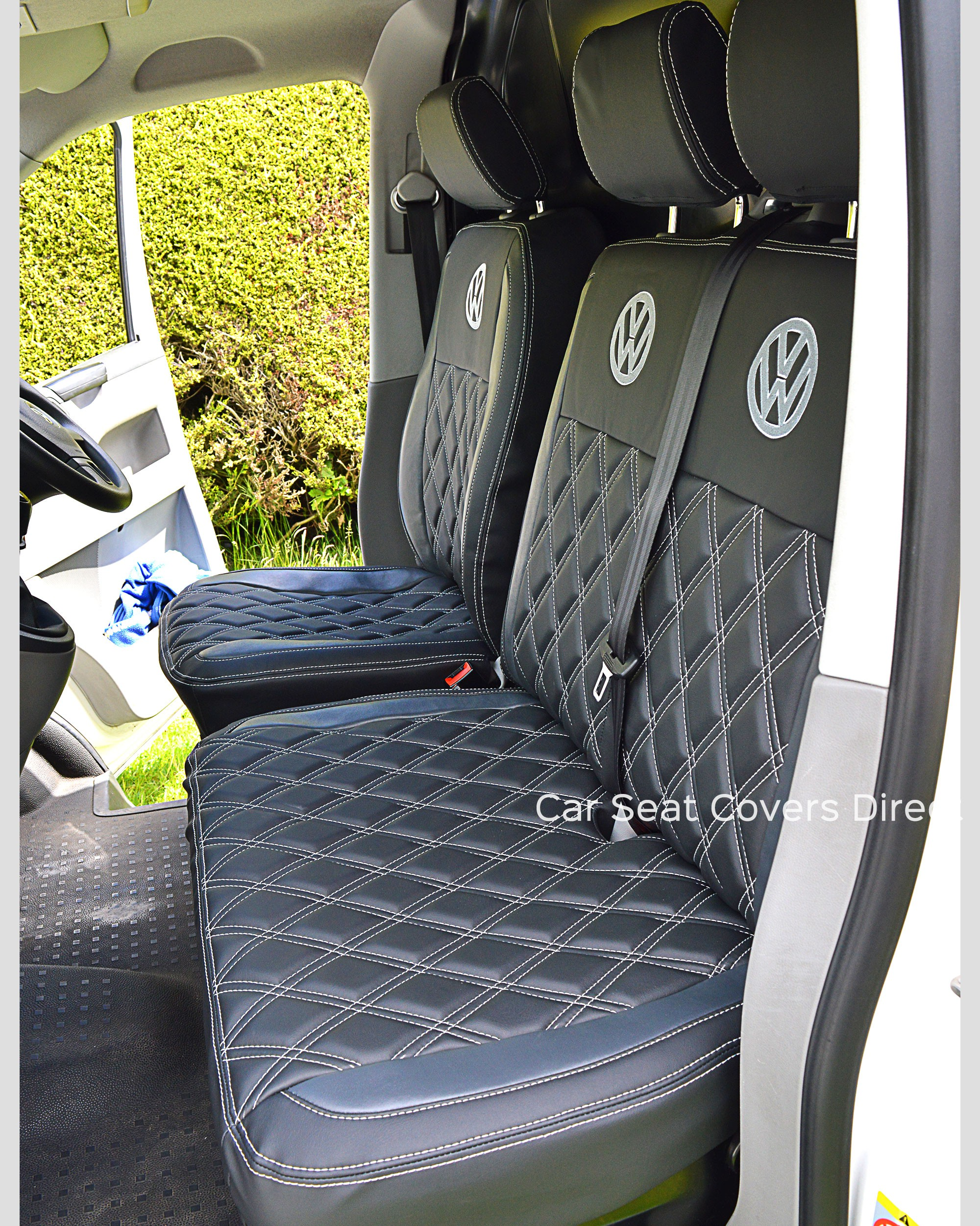 VW Transporter T5 Tailored Seat Covers - Side View