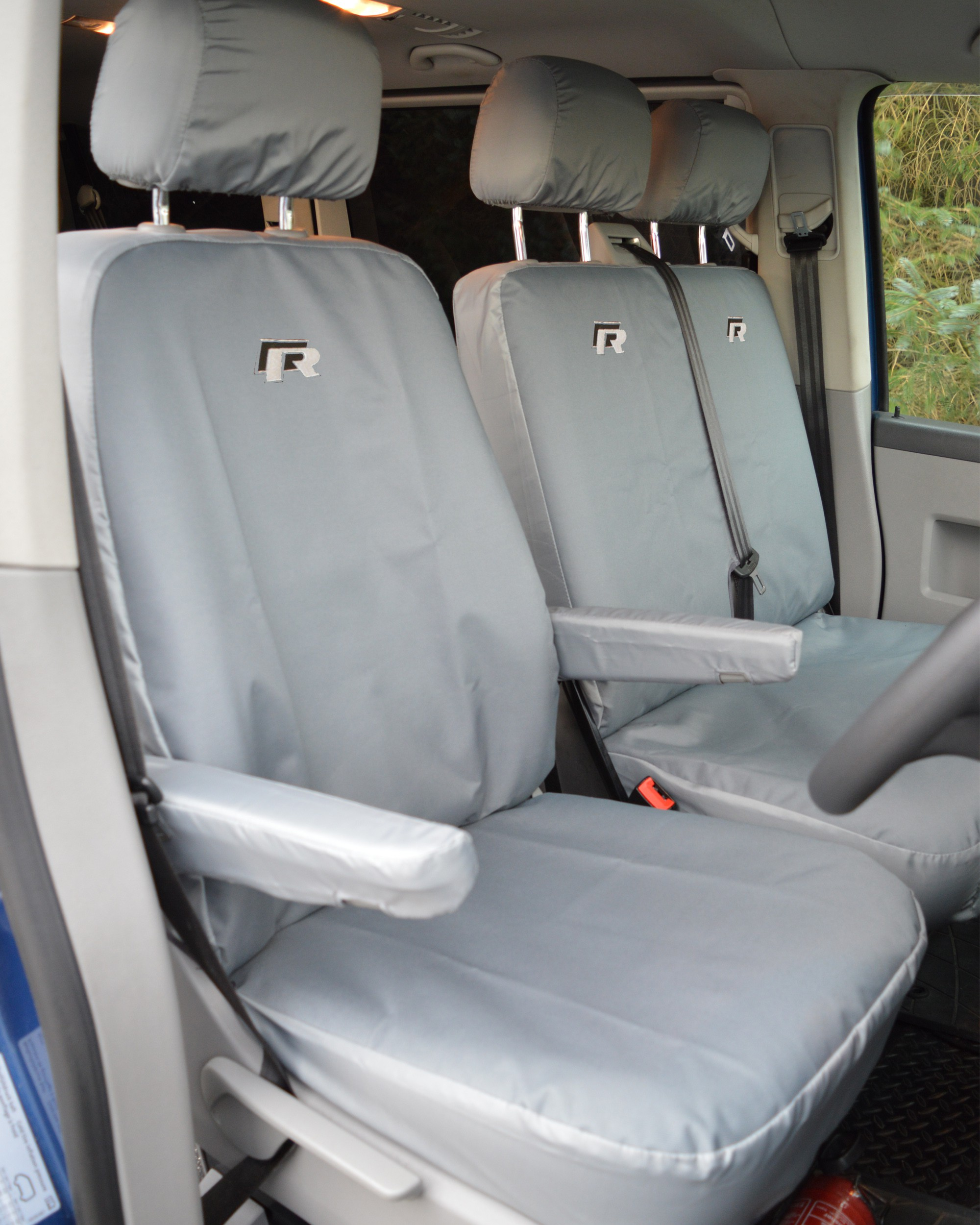 Volkswagen VW Transporter T6 R Line Heavy Duty Van Seat Covers