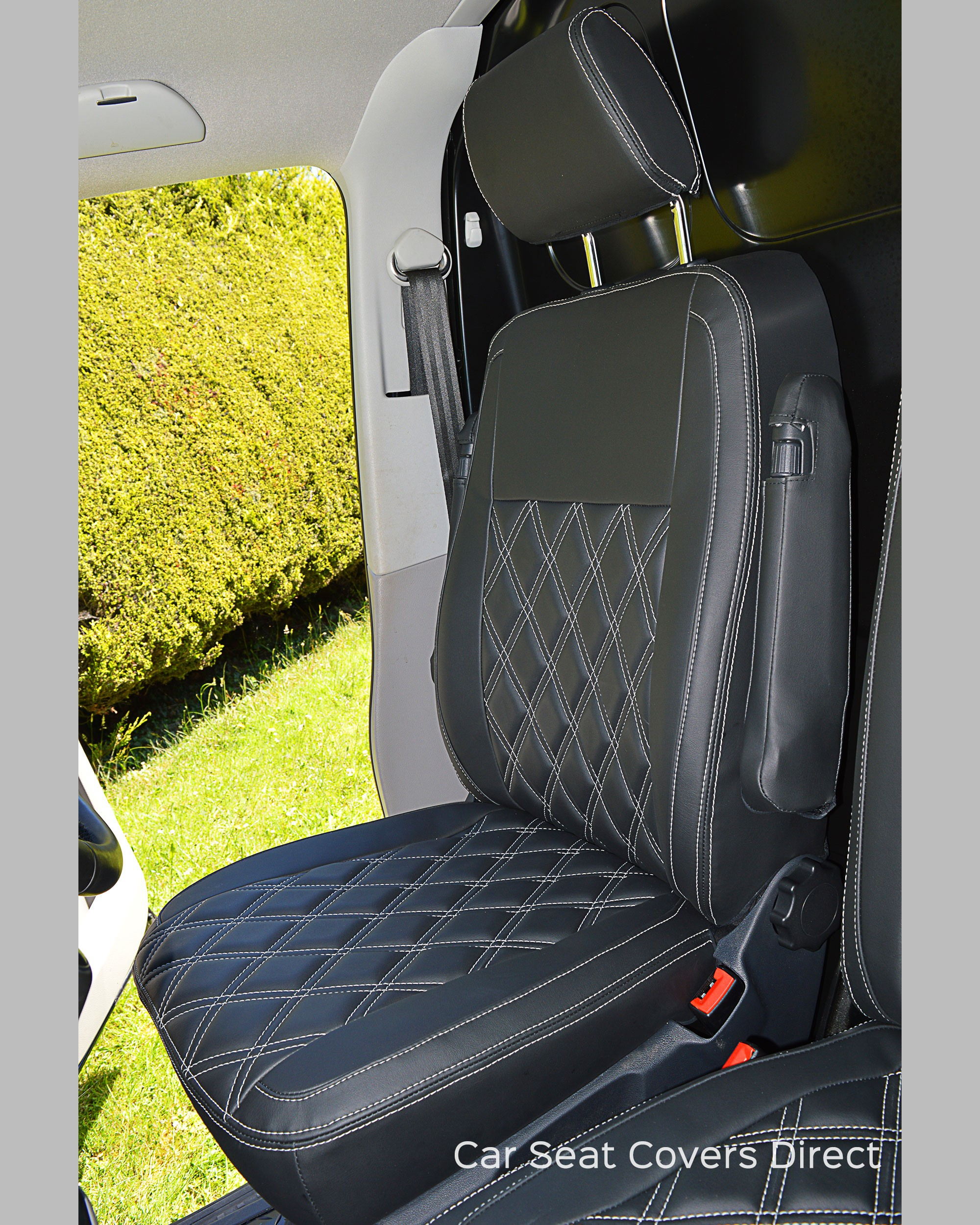 VW Transporter T5 Tailored Seat Covers - Driver seat