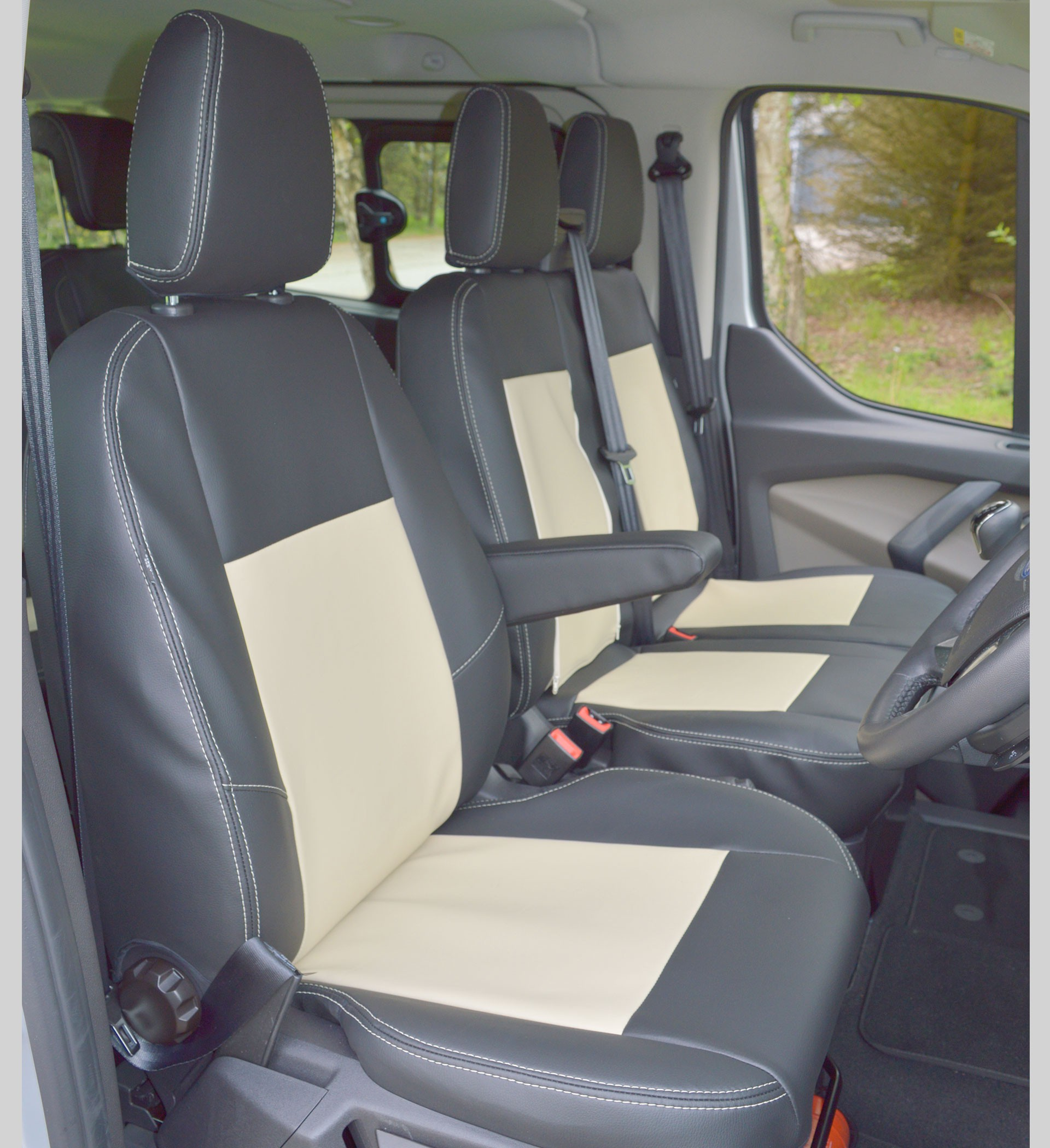 Ford Transit Custom Tourneo Tailored Waterproof Seat Covers