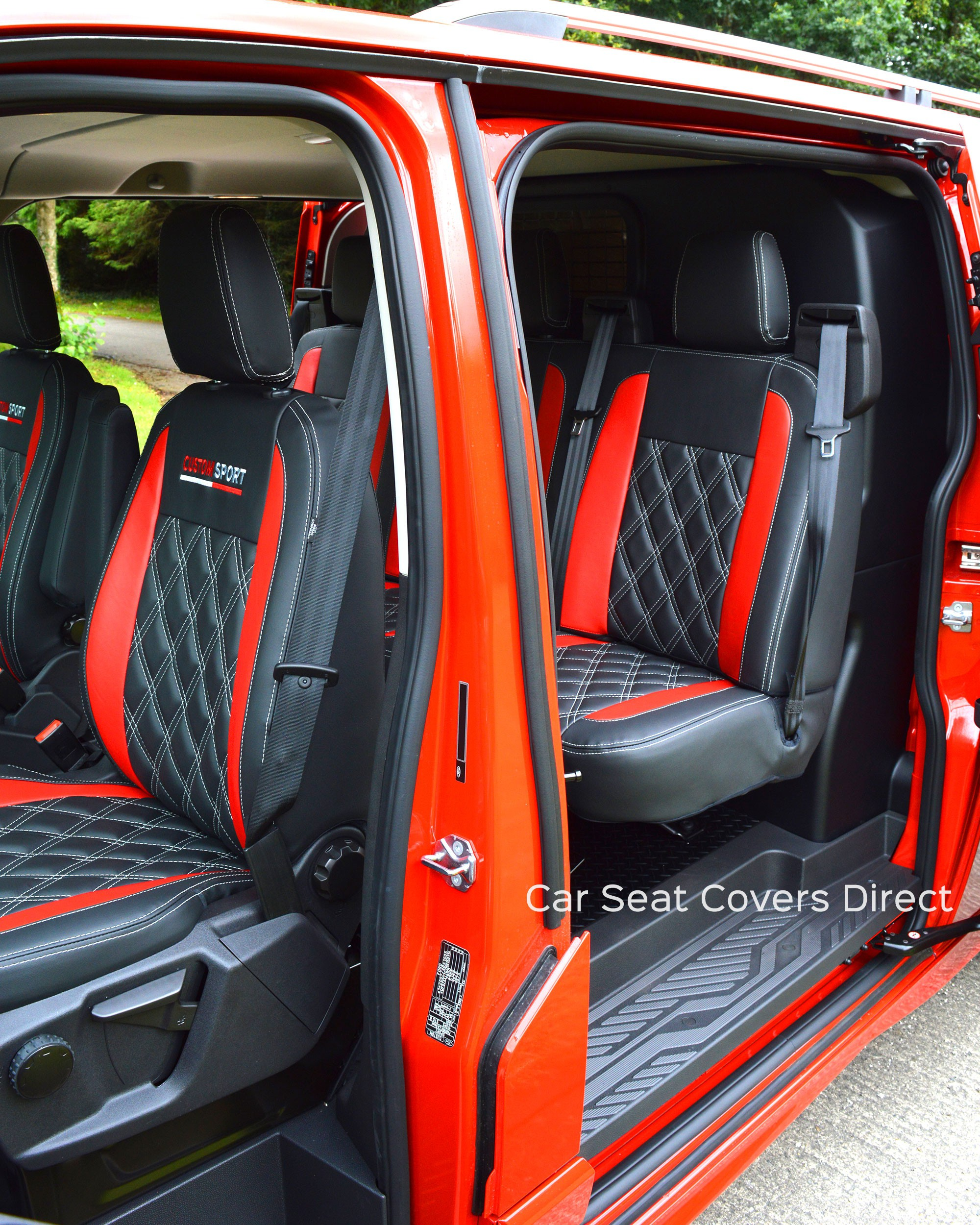 Ford transit Custom Sport Crew Cab Tailored Seat Covers