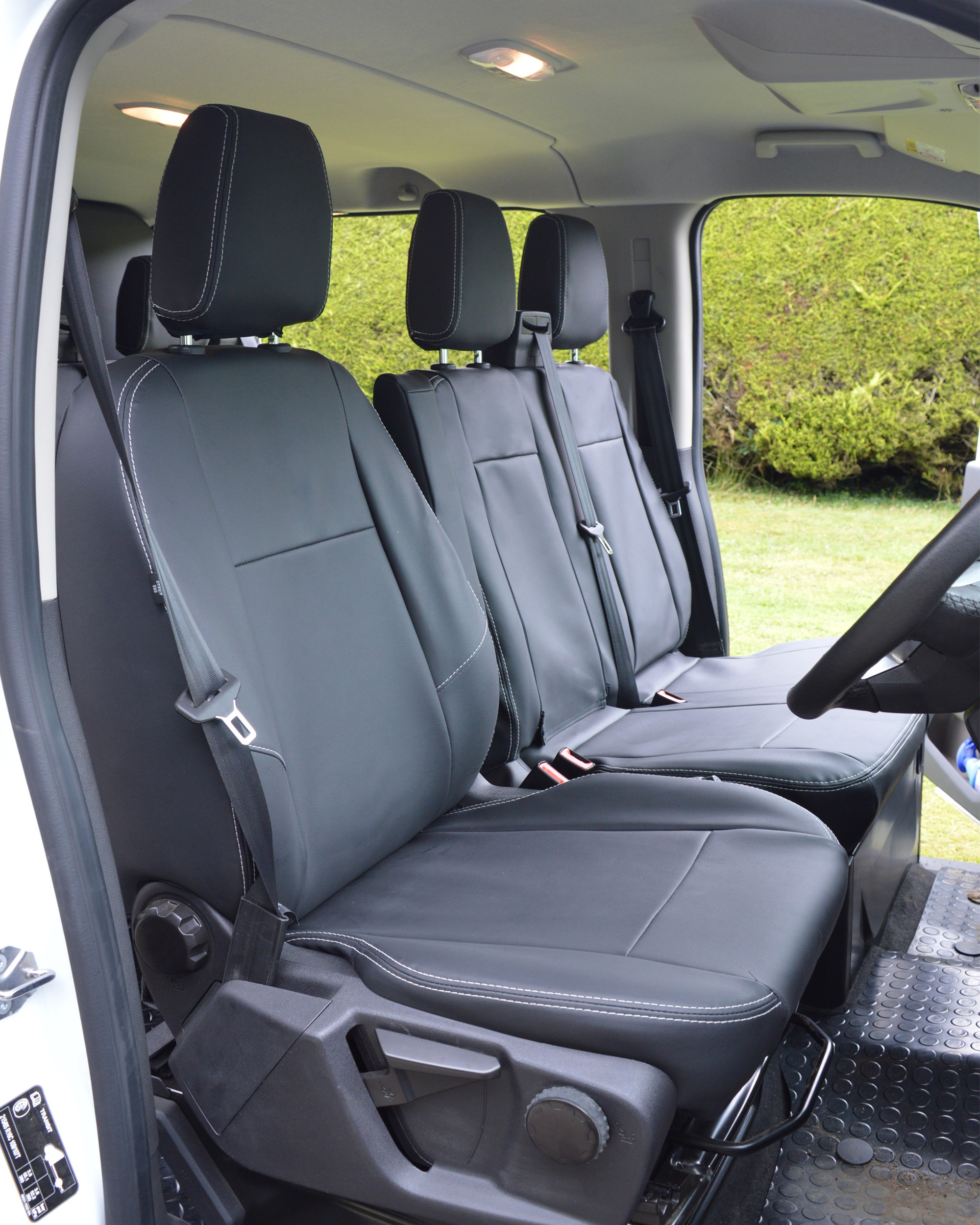 Ford Transit Black Seat Covers