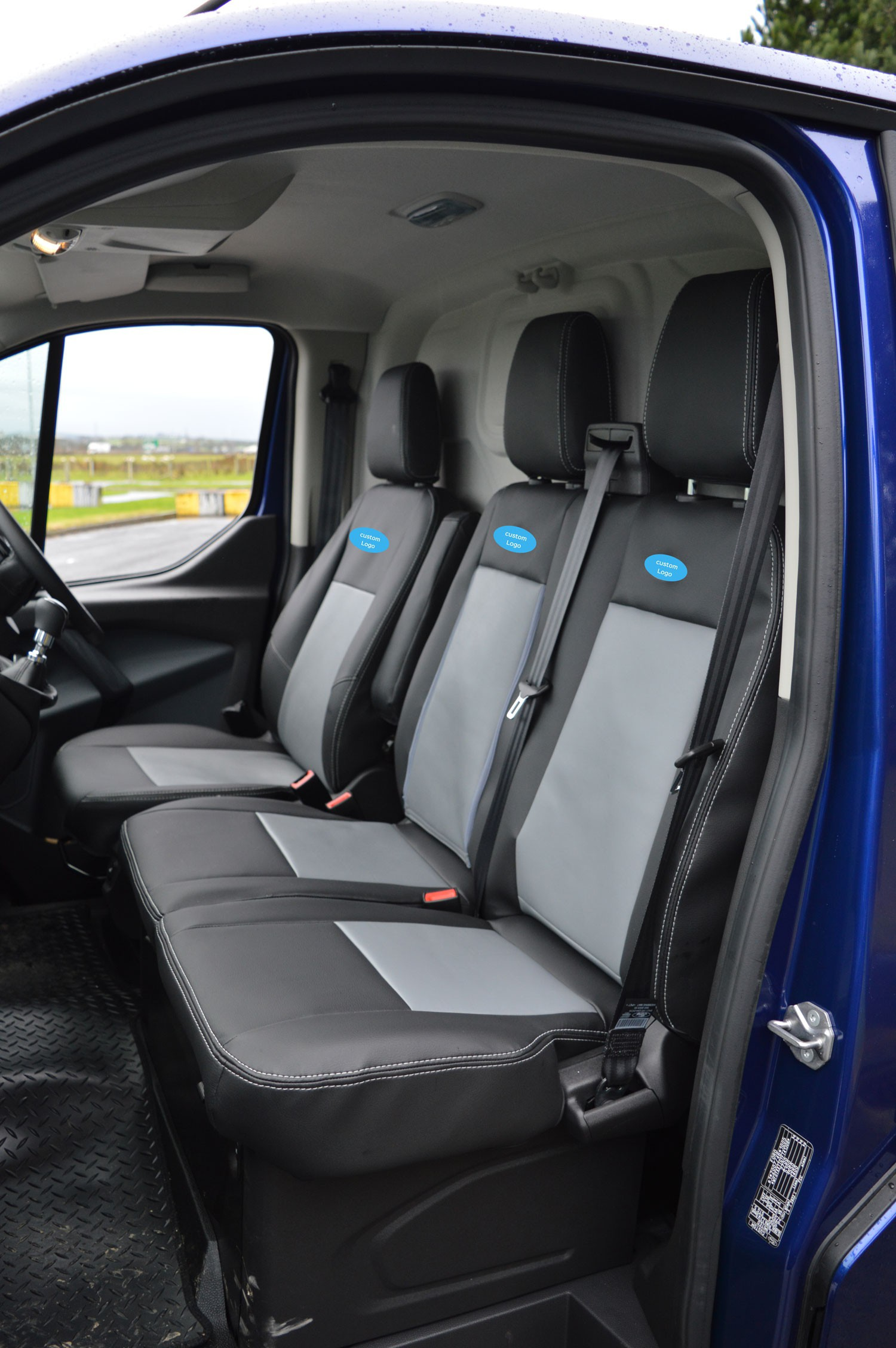 Ford Transit Custom (2013- onwards) Foam Backed Seat Covers