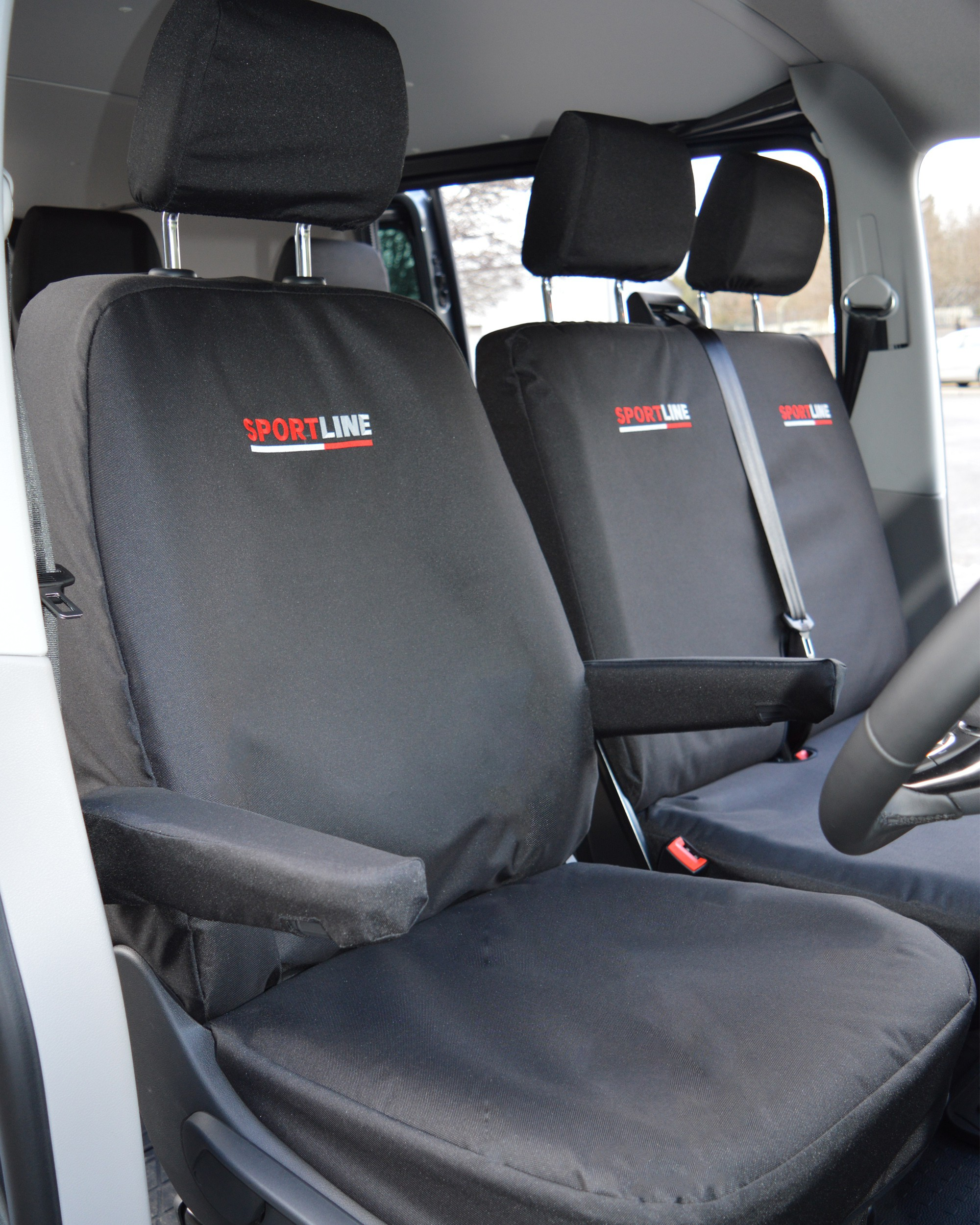 VW Transporter T5 sportline extra heavy duty seat covers - driver seat
