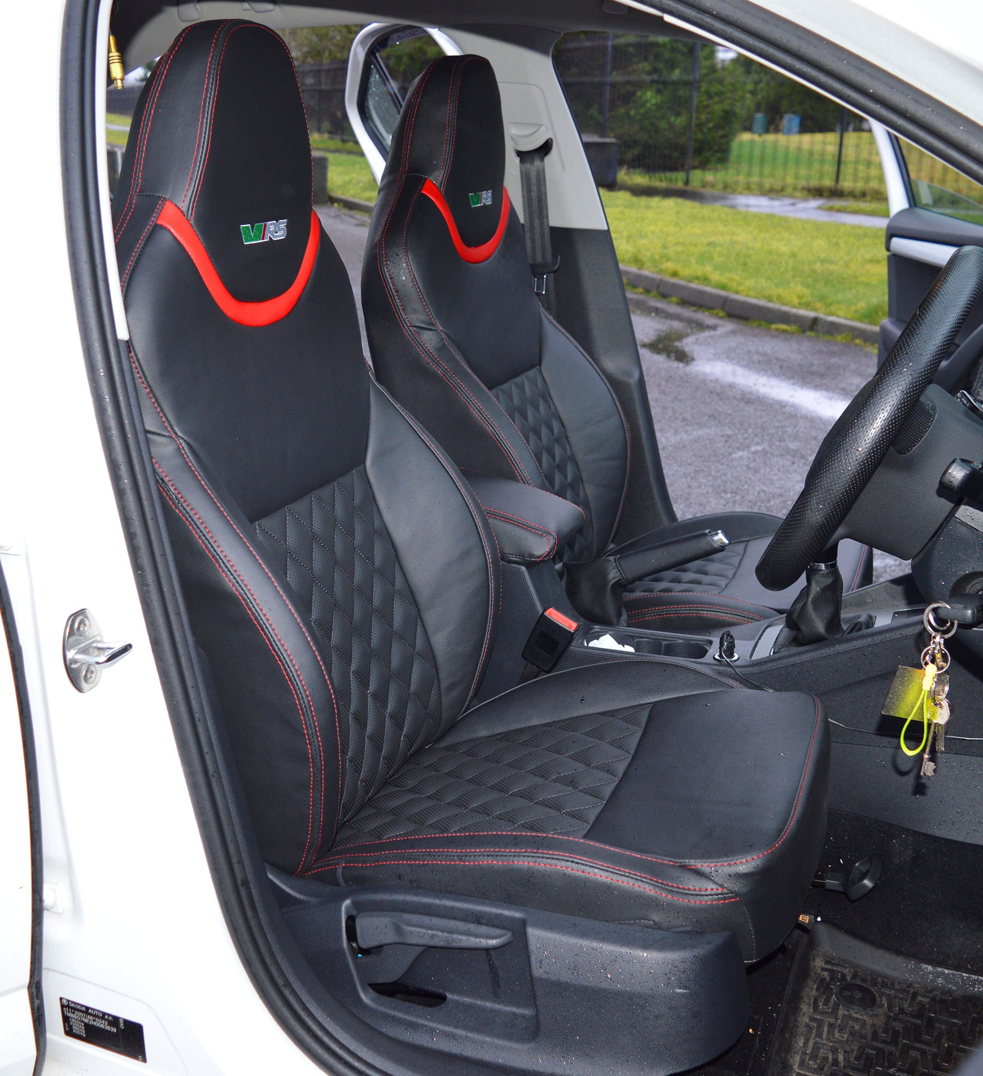 Skoda Octavia Sport VRS Tailored Car Seat Covers.