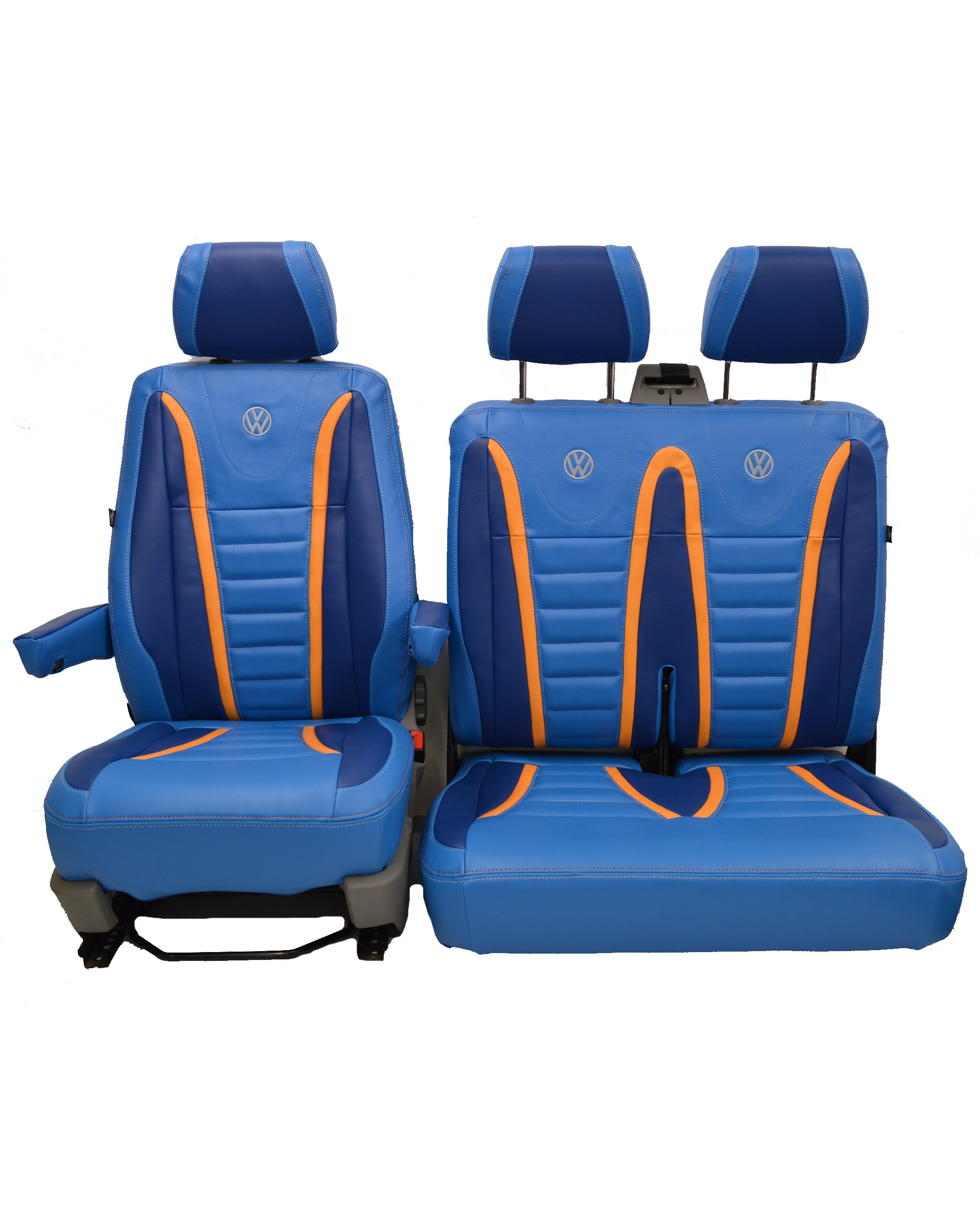 VW Transporter T5 Raceline Tailored Seat Covers