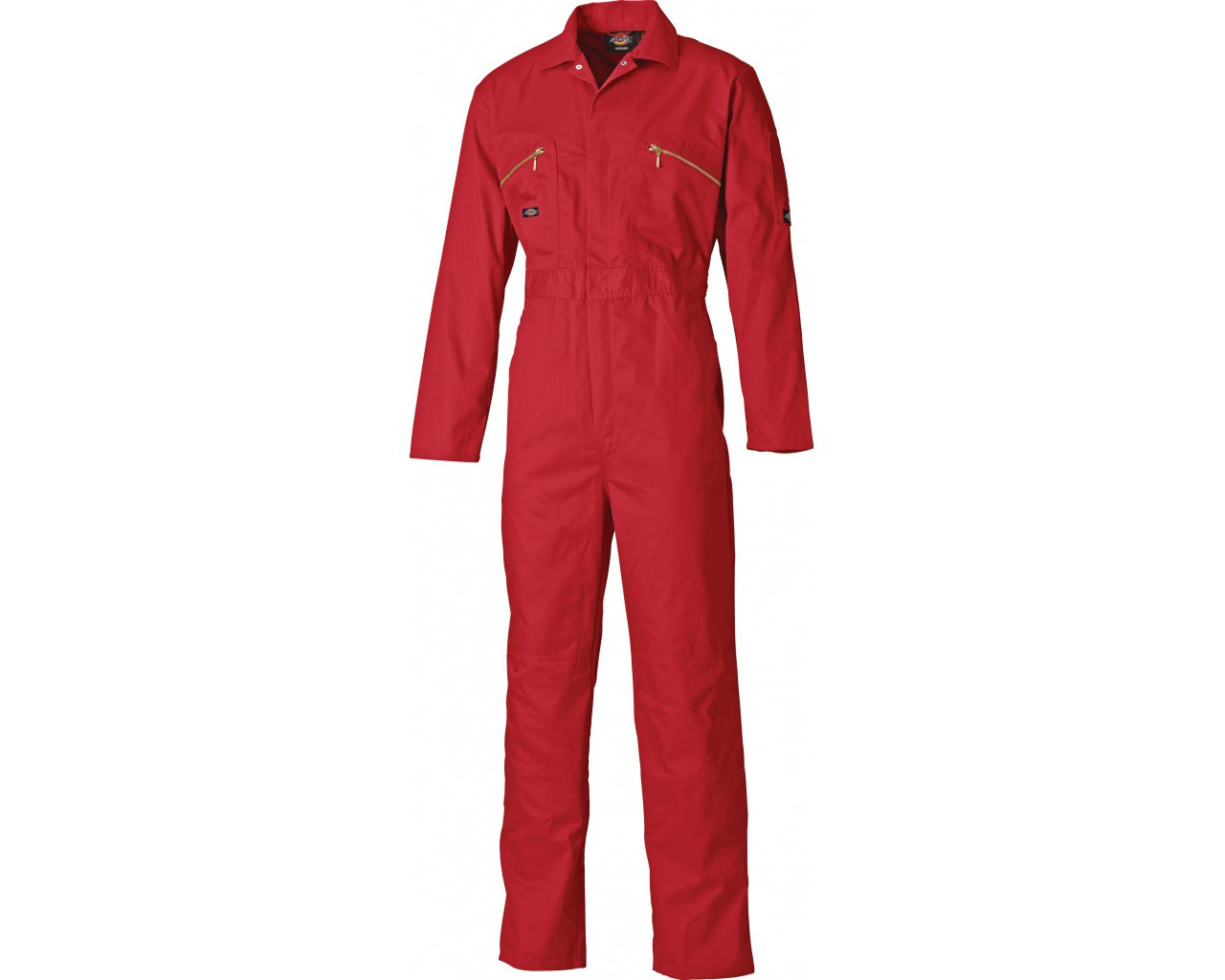 Dickies Redhawk Red Overall with Zip Front (WD4839)