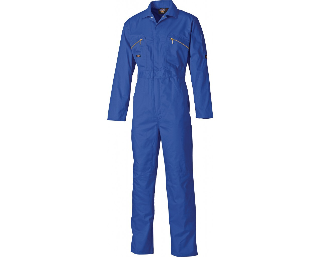 Dickies Redhawk Royal Blue Overall with Zip Front (WD4839)