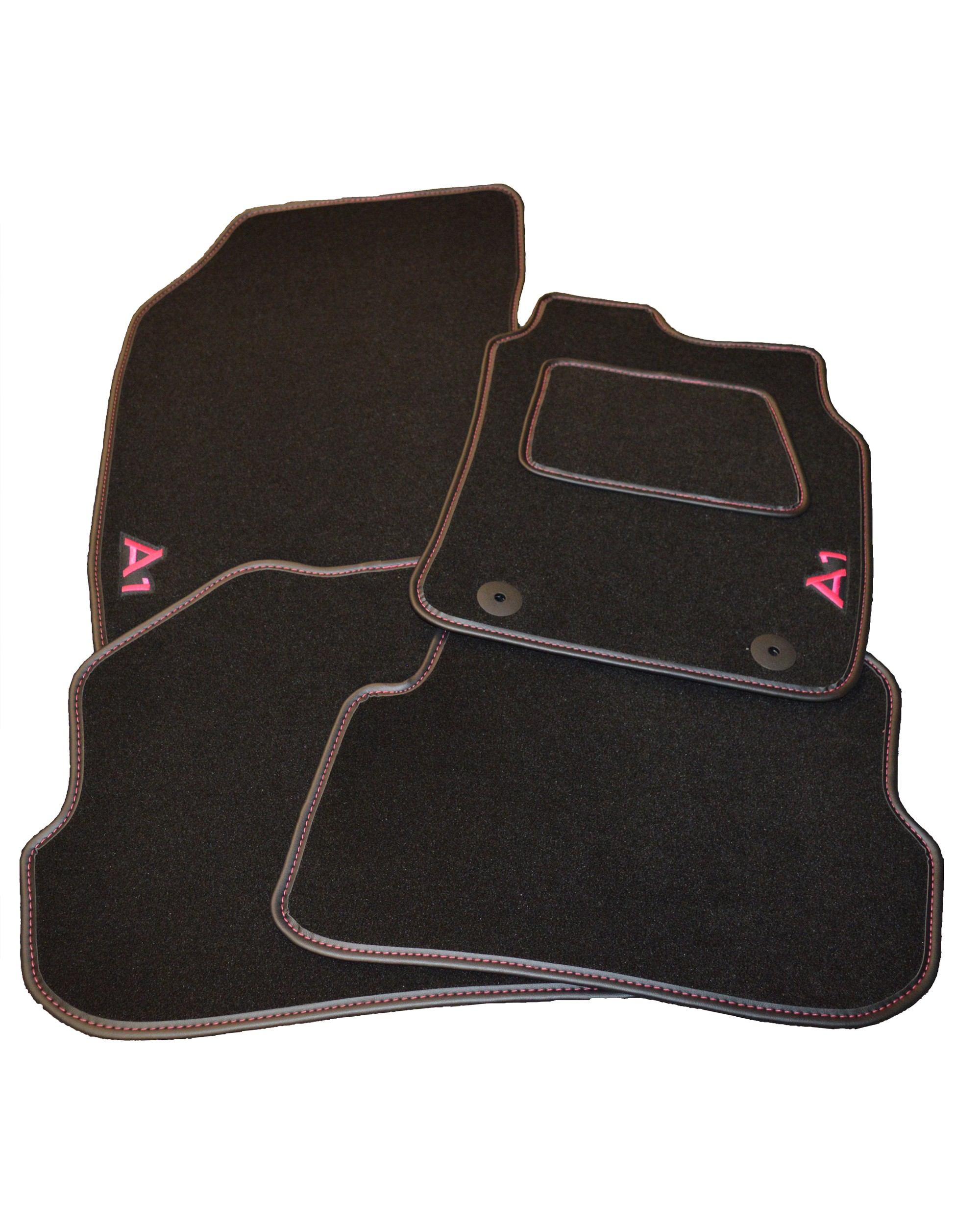 Audi A1 Full Set Of Car Mats With Logo