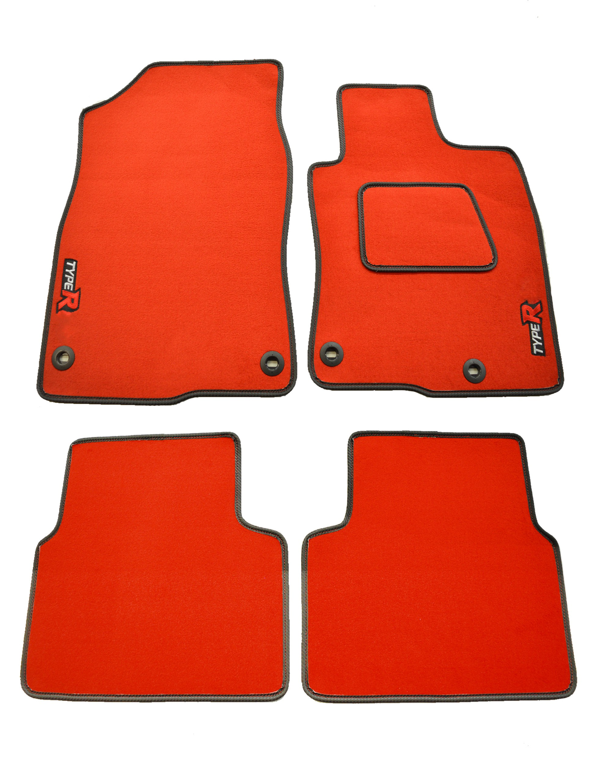 Honda Civic FK8 Red Car Mat