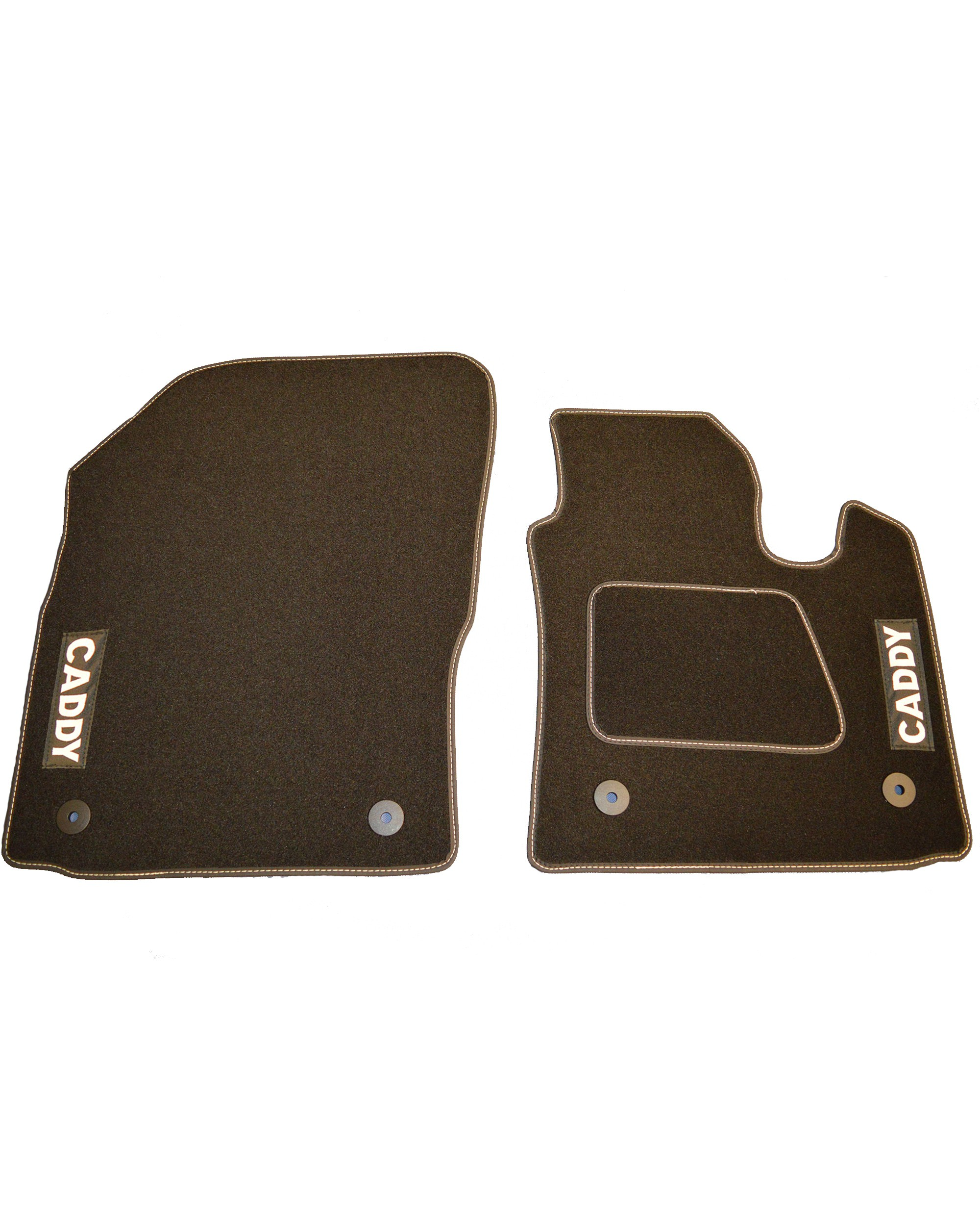 Volkswagen VW Caddy Floor Mats With Logo